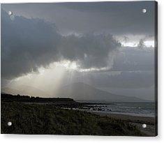 Tralee Bay Ireland Acrylic Print by Richard Singleton