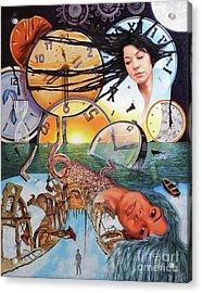 Trampas Del Tiempo Acrylic Print