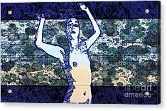 Trance Girl No. 2 By Mary Bassett Acrylic Print
