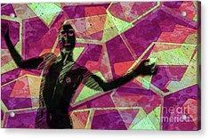 Trance Girl No. 6 By Mary Bassett Acrylic Print