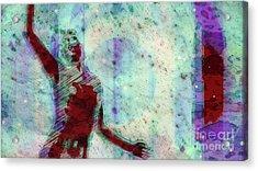 Trance Girl No. 9 By Mary Bassett Acrylic Print