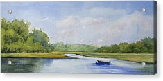Acrylic Print featuring the painting Tranquil Afternoon by Vikki Bouffard