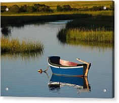 Tranquil Cape Cod Photography Acrylic Print by Juergen Roth