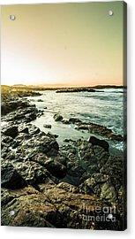 Tranquil Cove Acrylic Print