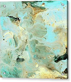 Tranquil Escape- Abstract Art By Linda Woods Acrylic Print