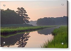 Tranquil Reflections Acrylic Print by Allan Levin