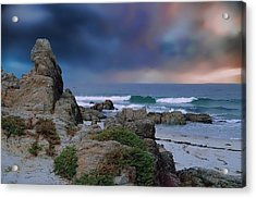 Acrylic Print featuring the photograph Tranquil Sea by Renee Hardison