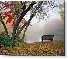 Tranquil View Acrylic Print