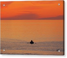 Acrylic Print featuring the photograph Tranquililty by Linda Hollis