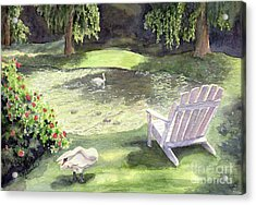 Tranquility  Acrylic Print by Malanda Warner