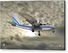 Trans Anguilla Airways Britten-norman Bn-2b-21 Islander 115 Acrylic Print