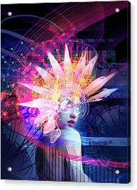 Transcendance Acrylic Print by Philip Straub