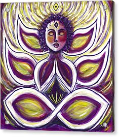 Acrylic Print featuring the painting Transcendence by Anya Heller