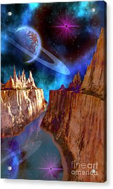 Transcendent Acrylic Print by Corey Ford