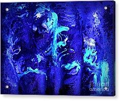 Transcendental Doo-wop Acrylic Print by David Neace
