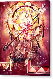 Transcending Indian Spirit Acrylic Print