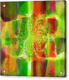 Transcending Inspiration Acrylic Print by Fania Simon