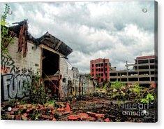 Apocalypse Detroit 2 Acrylic Print