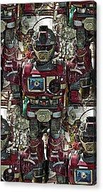Transformique For Sale Acrylic Print by Gwyn Newcombe