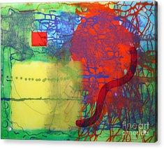 Transit Acrylic Print by Mordecai Colodner