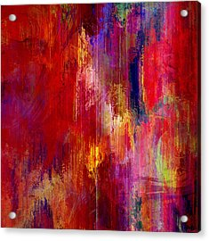 Transition - Abstract Art Acrylic Print