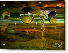 Transition Acrylic Print by Shadowlea Is
