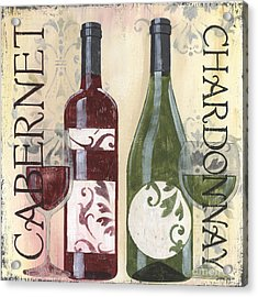 Transitional Wine 2 Acrylic Print by Debbie DeWitt