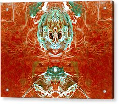 Transitioning Flow Acrylic Print