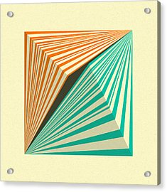 Transmission 5 Acrylic Print by Jazzberry Blue