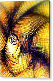 Transmutation Of The Forms Acrylic Print by Paulo Zerbato