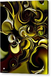 Transparent Dimension Acrylic Print