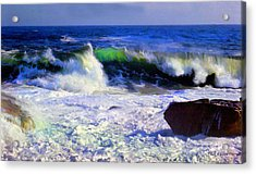 Transparent Wave Acrylic Print