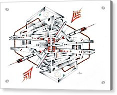 Transpipilous Acrylic Print