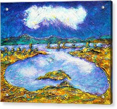 Transylvanian Landscape Acrylic Print