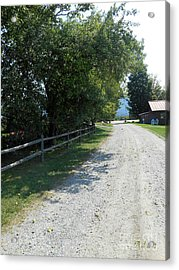 Trapp Family Lodge Rustic Road Acrylic Print