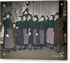 Trapp Family Singers 1945 Acrylic Print