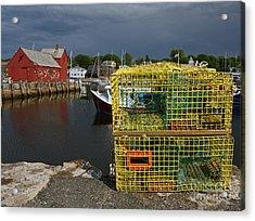 Traps By Motif No. 1 Acrylic Print by Robert Pilkington