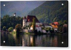 Acrylic Print featuring the photograph Traunkirchen - Austria by Ellen Heaverlo