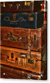 Travel - Old Bags Acrylic Print by Paul Ward