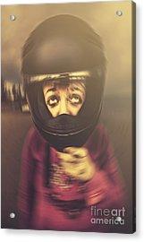 Travel Sickness Acrylic Print by Jorgo Photography - Wall Art Gallery