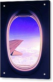 Travel The World Acrylic Print