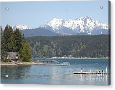 Traveler's Day At Alderbrook Acrylic Print