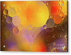 Traveling In Outer Space Acrylic Print