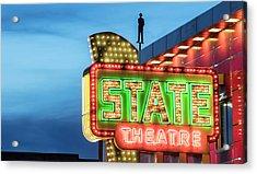 Traverse City State Theatre Acrylic Print