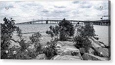 Acrylic Print featuring the photograph Traversing The Chesapeake by T Brian Jones
