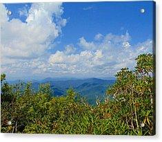 Tray Mountain Summit - South Acrylic Print