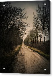 Acrylic Print featuring the photograph Treadmill by Odd Jeppesen