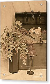 Treasure Chest Full Of Memories No.1 Acrylic Print by Sherry Hallemeier