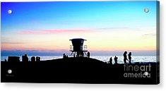 Treasure Coast Florida Sunrise Seascape Paradise 447 Acrylic Print