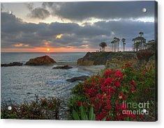 Acrylic Print featuring the photograph Treasure Island Beach Shoreline by Eddie Yerkish